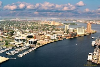 Aerial View, National at Harbor Tower Portsmouth
