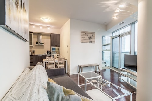 Check Expedia for Availability of AOC Suites - Two Bedroom Condo - City/CN Tower View