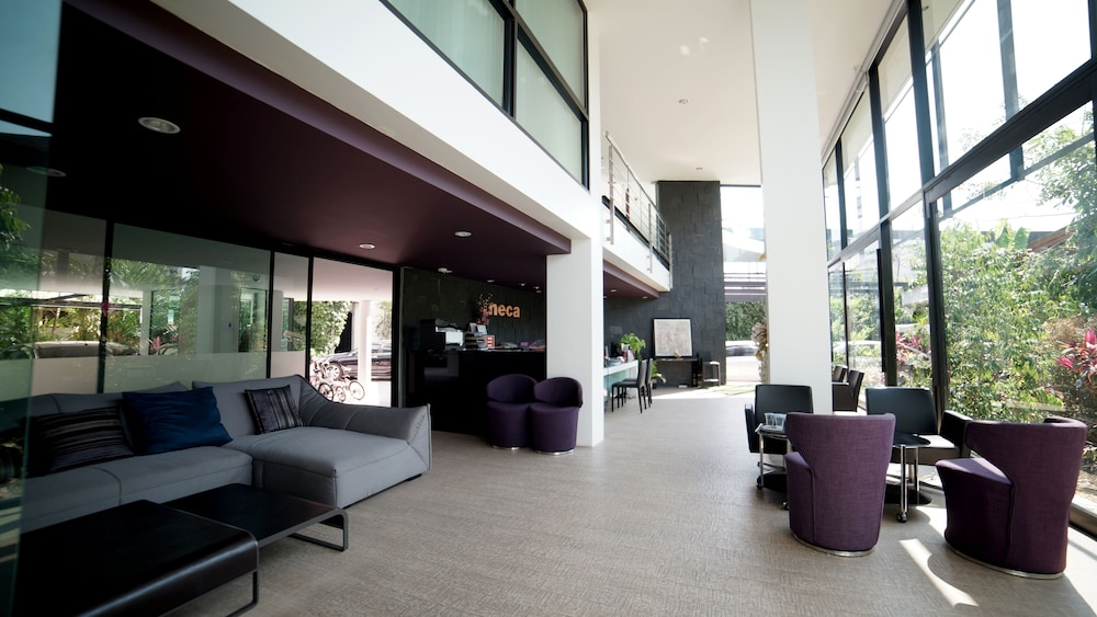 Neca Complex Apartment 2 5 Out Of 0 Terrace Patio Featured Image Lobby Sitting Area