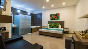 Minibar, coffres-forts dans les chambres, Wi-Fi gratuit, draps fournis