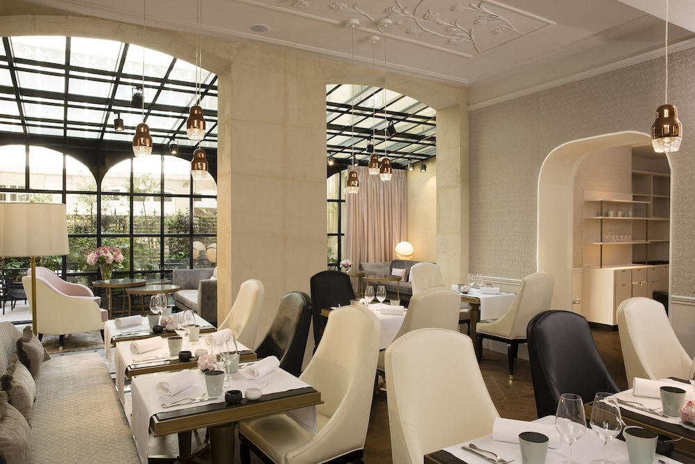 Restaurant, Hotel Le Narcisse Blanc & Spa