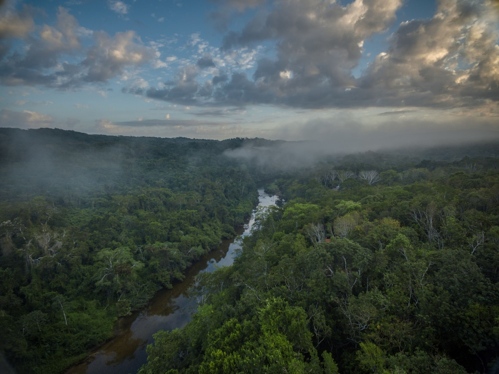 Aerial View, Table Rock Jungle Lodge