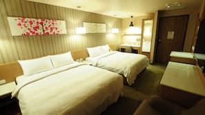 Premium bedding, desk, free cribs/infant beds