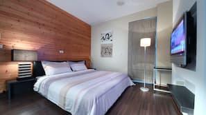 1 間臥室、高級寢具、羽絨被、免費 Wi-Fi