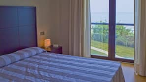 In-room safe, blackout curtains, iron/ironing board, cots/infant beds