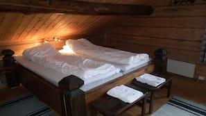 Premium bedding, desk, cots/infant beds, rollaway beds