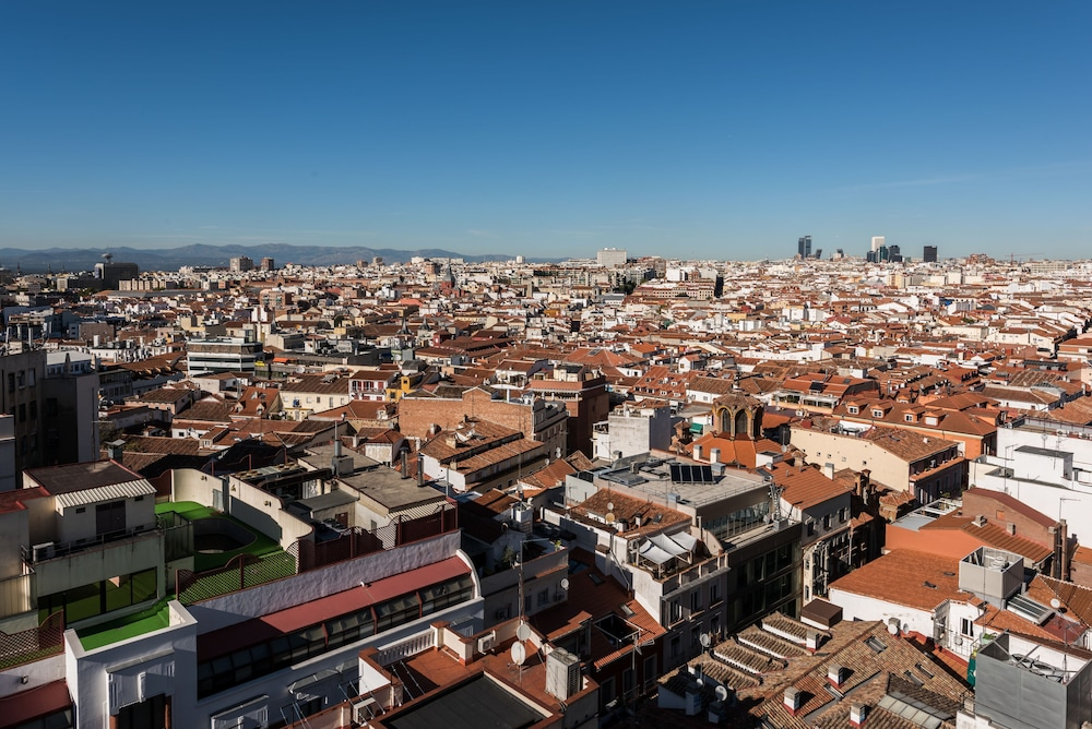 Aerial View, SmartRental Collection Gran Via Capital