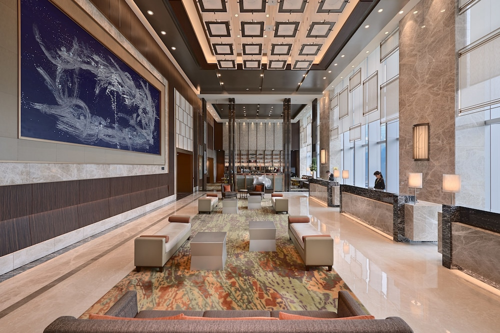 Interior Entrance, Courtyard by Marriott Taipei