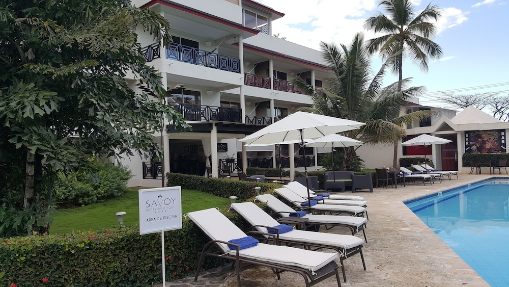 Front of Property, Savoy Hotel Boutique Las Terrenas