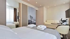 Down duvets, in-room safe, individually furnished, desk