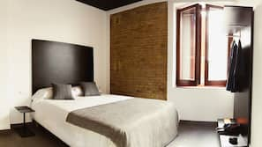Premium bedding, blackout curtains, soundproofing, iron/ironing board