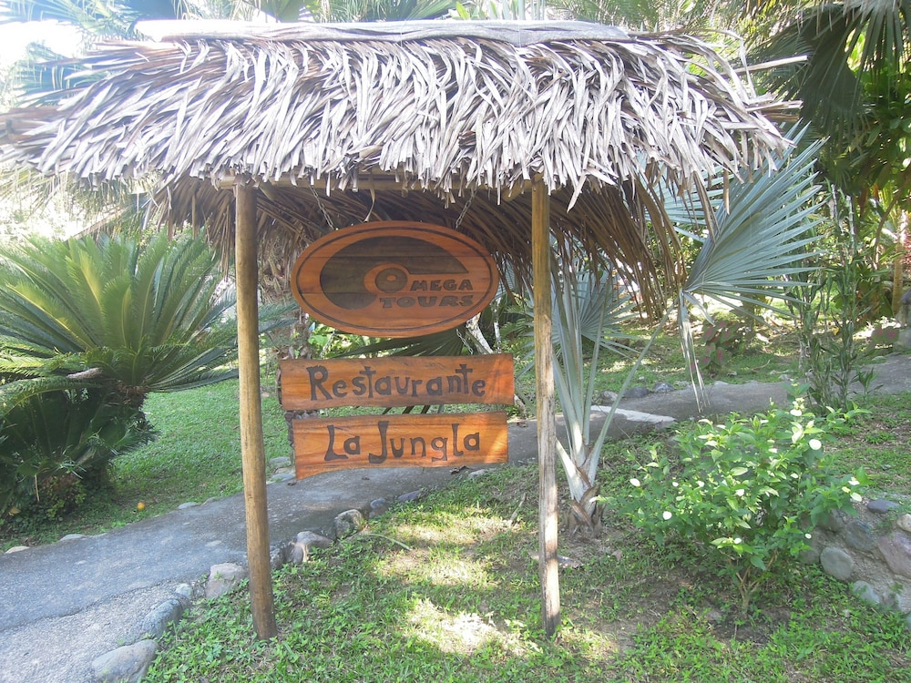 Front of Property, Omega Tours Adventure Company & Eco Jungle Lodge
