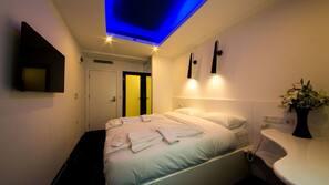 Kostenlose Minibar, Zimmersafe, kostenloses WLAN