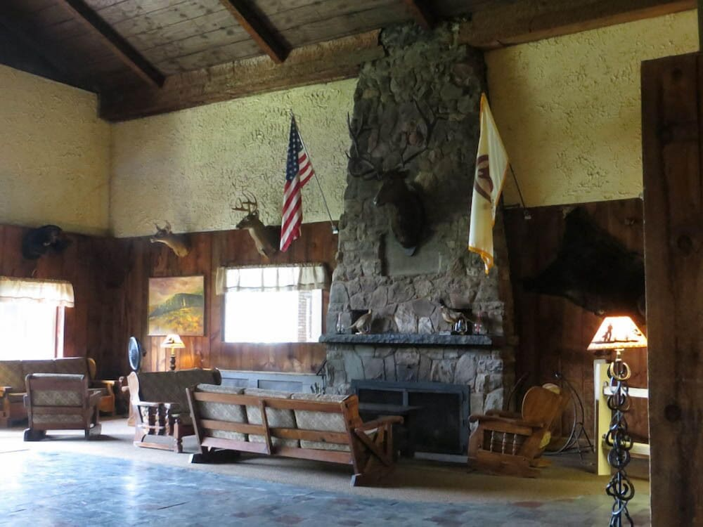 Lobby Sitting Area, Malibu Dude Ranch