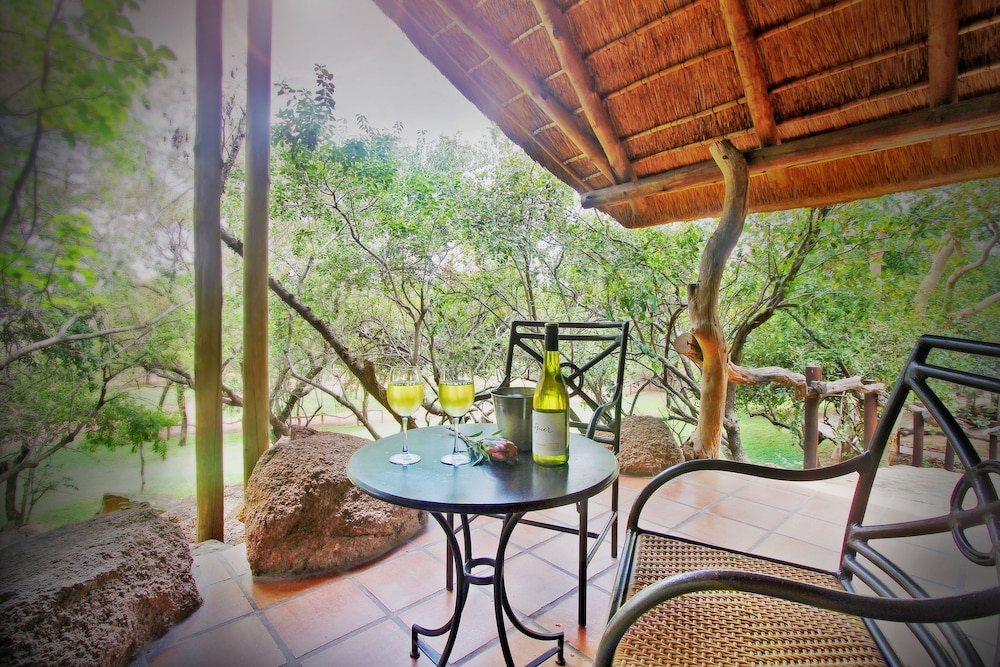 View from Room, Itaga Luxury Private Game Lodge