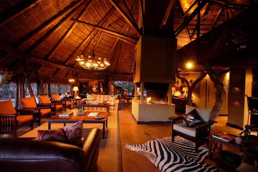 Fireplace, Itaga Luxury Private Game Lodge