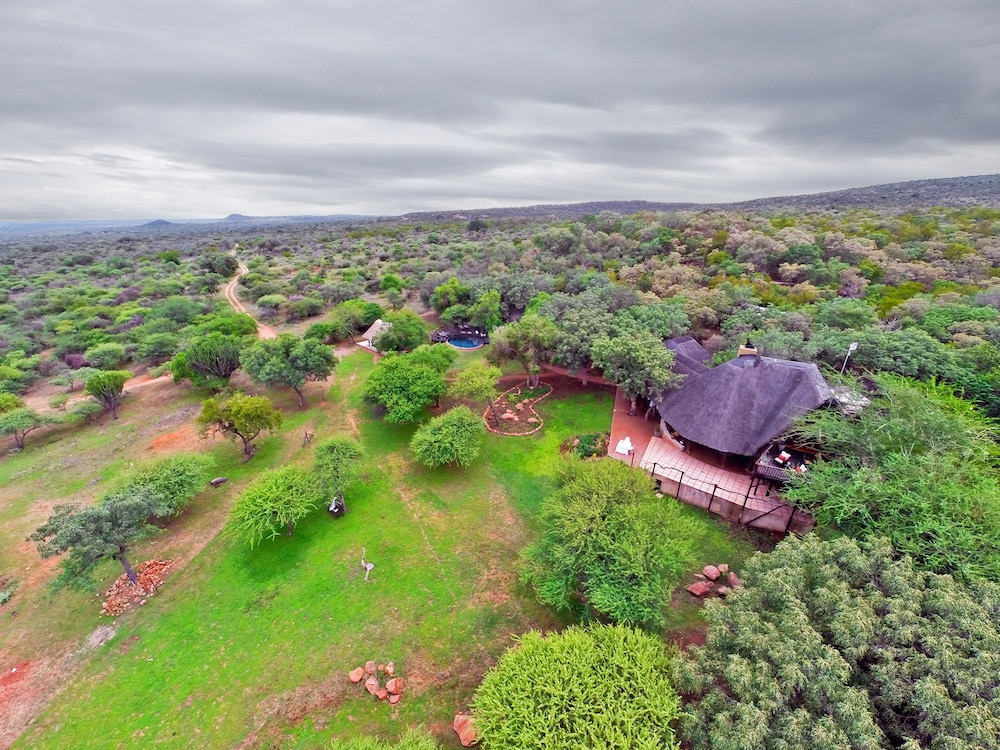 Aerial View, Itaga Luxury Private Game Lodge