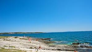Am Strand, Sporttauchen, Schnorcheln