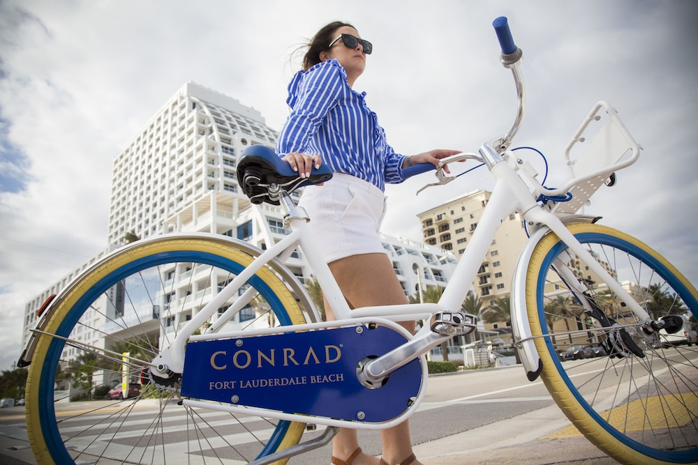 Bicycling, Conrad Fort Lauderdale Beach