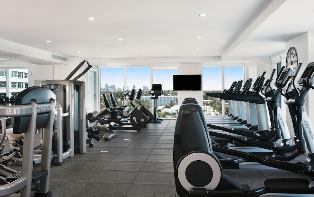 Fitness Facility, Conrad Fort Lauderdale Beach