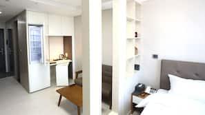 객실 내 금고, 책상, 방음 설비, 무료 WiFi