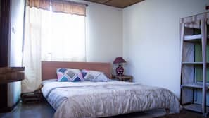 Blackout drapes, cribs/infant beds, free WiFi