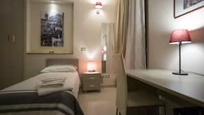 Premium bedding, free minibar items, desk, free cribs/infant beds