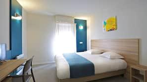 In-room safe, desk, laptop workspace, free cribs/infant beds