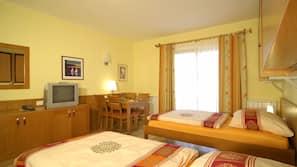 In-room safe, blackout drapes, cribs/infant beds, bed sheets