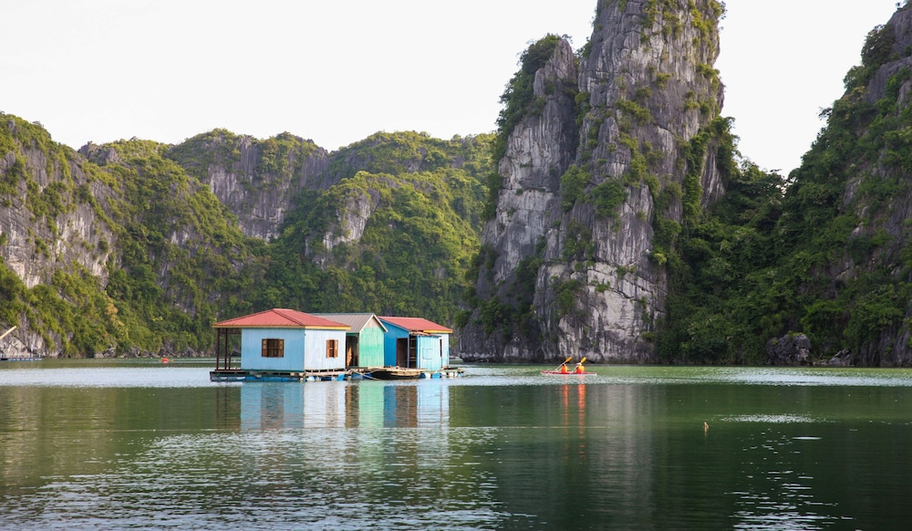 View from Property, Halong Royal Palace Cruise