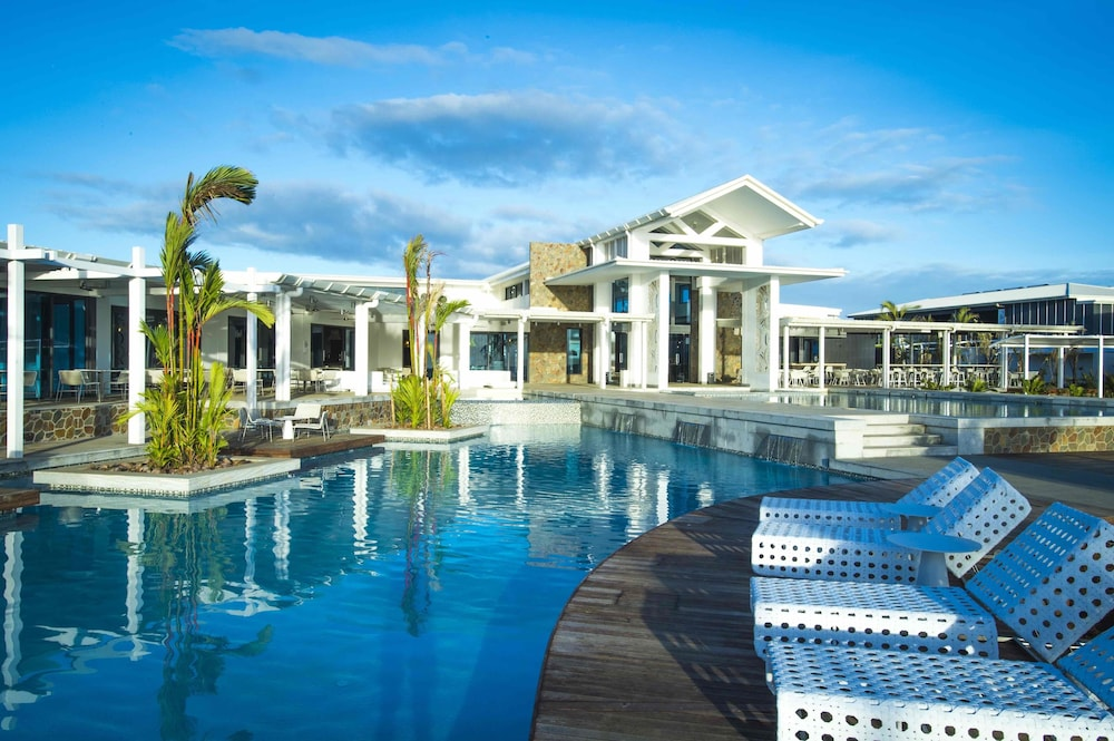 Outdoor Pool, Taumeasina Island Resort