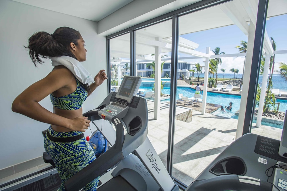 Gym, Taumeasina Island Resort