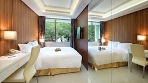 ห้องเก็บเสียง, Wi-Fi ฟรี, ผ้าปูที่นอน