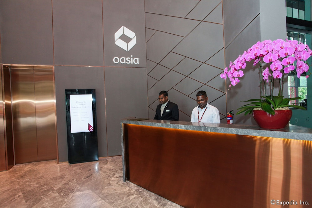 Concierge Desk, Oasia Hotel Downtown Singapore (SG Clean)
