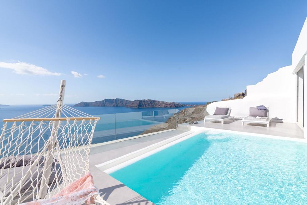 Mythique villas suites santorini grecia - Hotel con piscina privata grecia ...