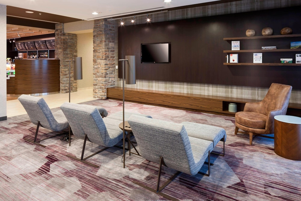 Lobby, Courtyard by Marriott Fort Worth at Alliance Town Center