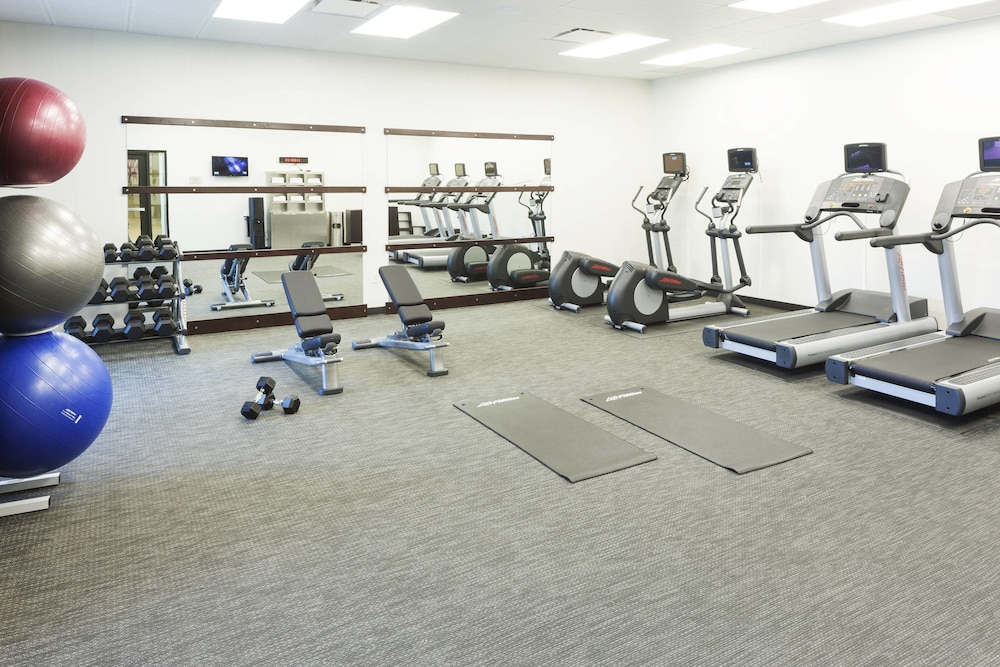 Fitness Facility, Courtyard by Marriott Fort Worth at Alliance Town Center