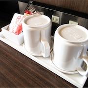 室内のコーヒー