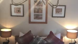 Egyptian cotton sheets, blackout curtains, iron/ironing board, free WiFi