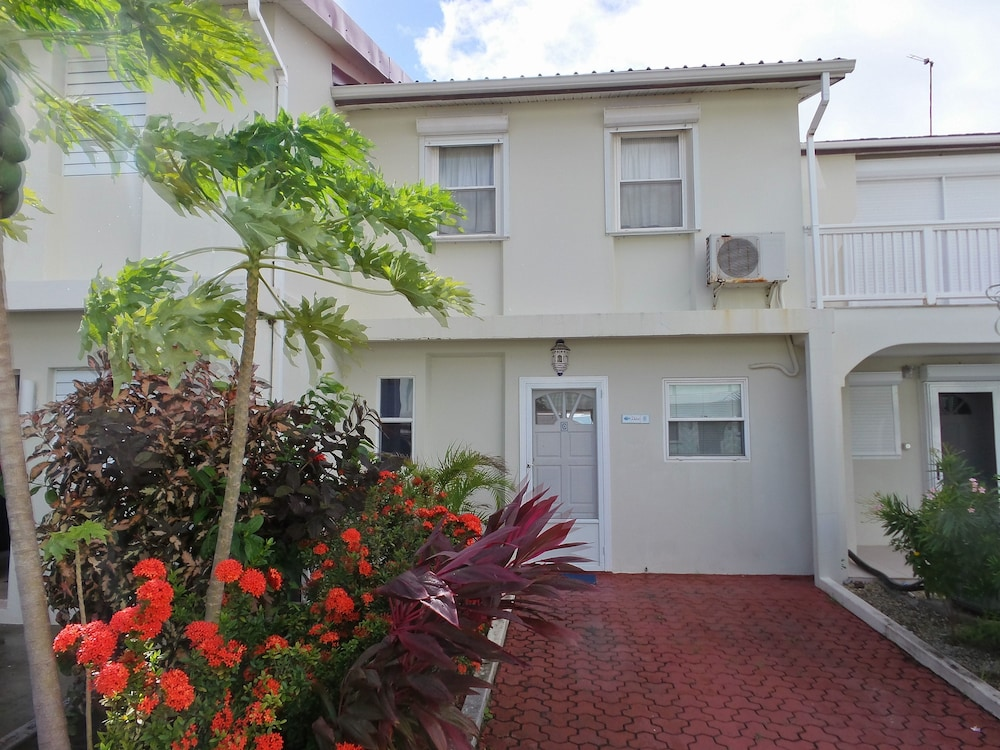 Front of Property, Villa 244C Jolly Harbour