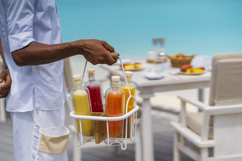 Food and Drink, Milaidhoo Island Maldives
