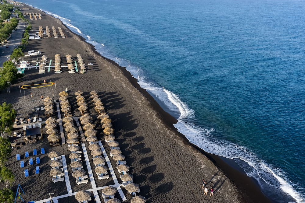 Beach, Santorini Heights