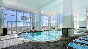 2 indoor pools, 3 outdoor pools, pool umbrellas, sun loungers