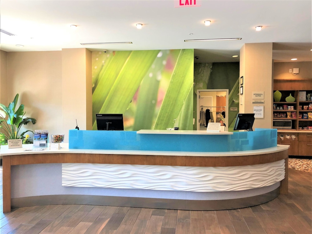 Reception, Springhill Suites by Marriott Charleston Mount Pleasant