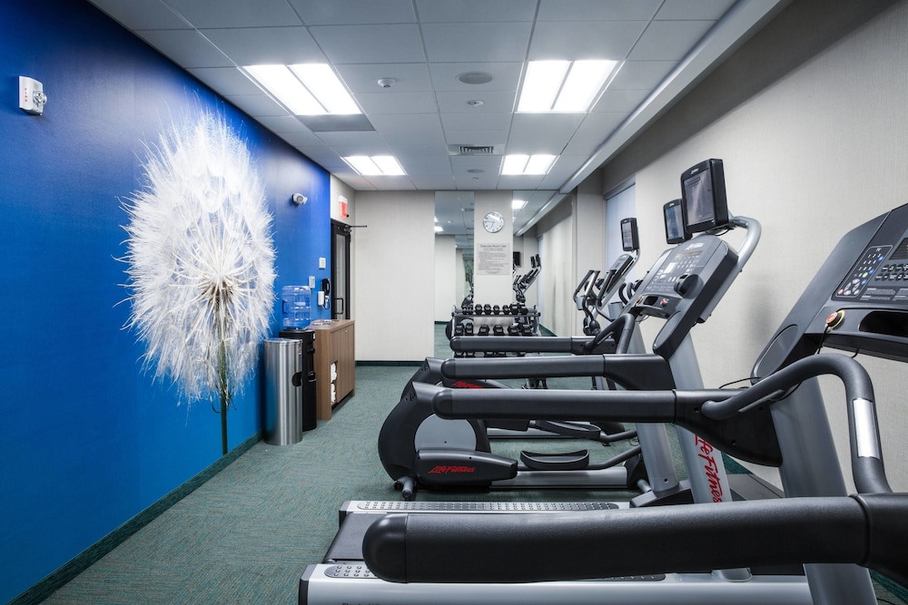 Fitness Facility, Springhill Suites by Marriott Charleston Mount Pleasant