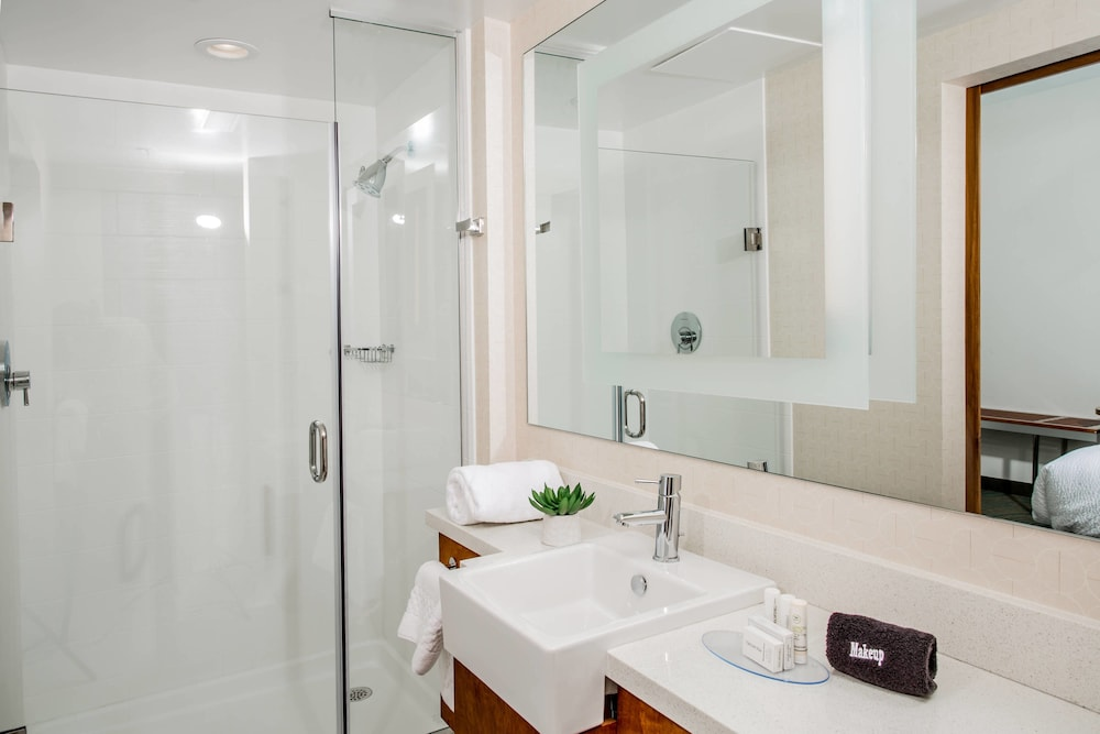Bathroom, Springhill Suites by Marriott Charleston Mount Pleasant