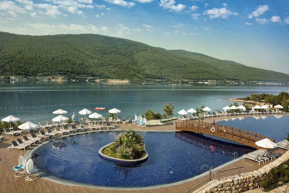 Outdoor Pool, Titanic Deluxe Bodrum - All Inclusive