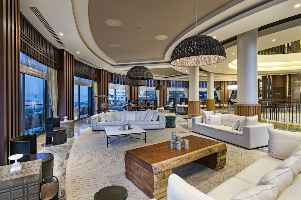 Lobby Sitting Area, Titanic Deluxe Bodrum - All Inclusive