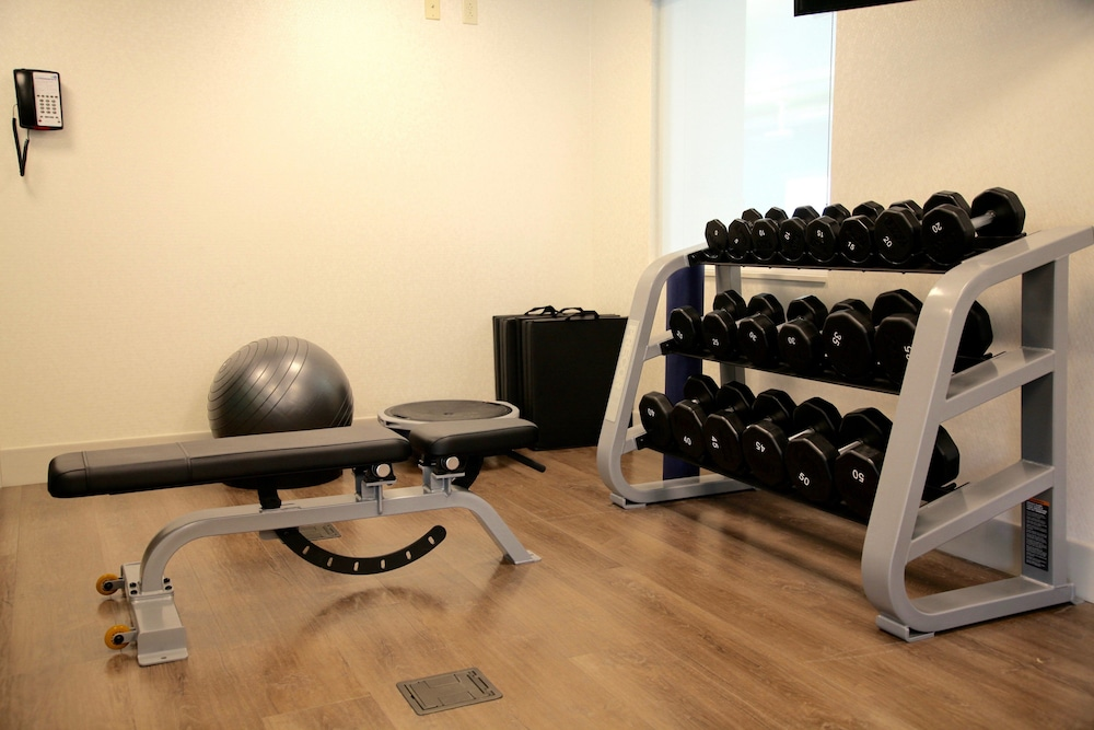Fitness Facility, Holiday Inn Express & Suites Oswego, an IHG Hotel