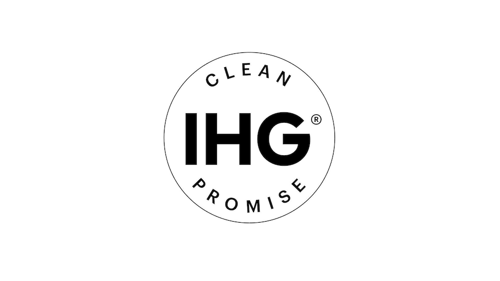 Cleanliness badge, Holiday Inn Express and Suites Detroit/Sterling Heights, an IHG Hotel
